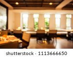 abstract blur and defocused... | Shutterstock . vector #1113666650