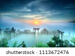 bao loc  vietnam   may 15th ... | Shutterstock . vector #1113672476