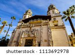 san simeon  ca usa   nov. 9 ... | Shutterstock . vector #1113692978