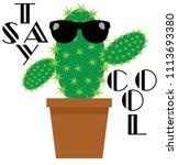 vector illustration of funny... | Shutterstock .eps vector #1113693380