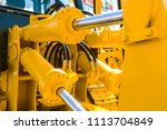 hydraulic piston system for...   Shutterstock . vector #1113704849