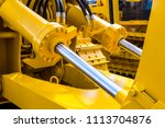 hydraulic piston system for... | Shutterstock . vector #1113704876