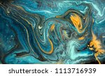 marble abstract acrylic... | Shutterstock . vector #1113716939