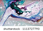 marble abstract acrylic... | Shutterstock . vector #1113727793