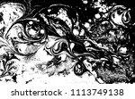 black and white liquid texture. ...   Shutterstock .eps vector #1113749138