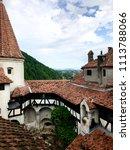 bran castle  castle of dracula  ... | Shutterstock . vector #1113788066