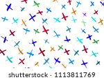 abstract watercolor on white... | Shutterstock . vector #1113811769