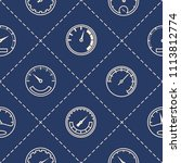 seamless pattern with... | Shutterstock .eps vector #1113812774