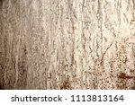 grey textured background metal...   Shutterstock . vector #1113813164
