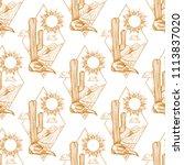 seamless background of... | Shutterstock .eps vector #1113837020
