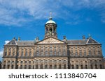 the facade and dome of the 17th ... | Shutterstock . vector #1113840704