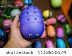 the worm is made of nylon... | Shutterstock . vector #1113850574