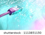 futuristic technological... | Shutterstock . vector #1113851150