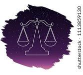 zodiac sign   libra. vector...   Shutterstock .eps vector #1113859130