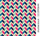 seamless geometric pattern with ... | Shutterstock . vector #111390644
