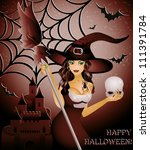 Happy Halloween Card  Sexy...