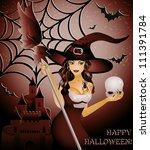 Happy Halloween Card  Sexy...