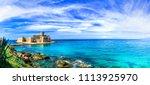 le castella .isola di capo... | Shutterstock . vector #1113925970