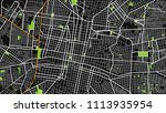 black white map city m rida | Shutterstock .eps vector #1113935954