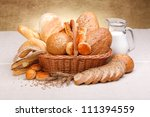 Different Bread Products With...