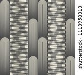seamless wave pattern. fine... | Shutterstock .eps vector #1113958313