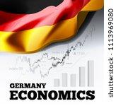 germany economics illustration... | Shutterstock . vector #1113969080
