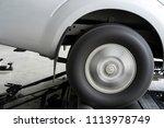 dynamometer test car... | Shutterstock . vector #1113978749
