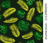 seamless pattern with vector... | Shutterstock .eps vector #1113980693