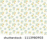 cute floral pattern in the... | Shutterstock .eps vector #1113980903