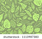 seamless background with... | Shutterstock .eps vector #1113987383