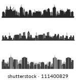vector illustration.city... | Shutterstock .eps vector #111400829