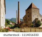 salins les bains  france  ... | Shutterstock . vector #1114016333