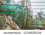 close up of old and rusty... | Shutterstock . vector #1114020134