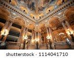 paris  france   may 13  palais... | Shutterstock . vector #1114041710