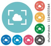 camera white balance cloudy... | Shutterstock .eps vector #1114055564