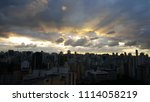 skyline view of central and... | Shutterstock . vector #1114058219