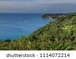 holidays in slovenia. beautiful ...   Shutterstock . vector #1114072214