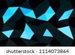 light blue vector blurry... | Shutterstock .eps vector #1114073864