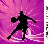 basketball players | Shutterstock .eps vector #11141104