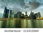 Singapore Skyscrapers In...