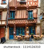 rennes brittany may 8th 2013  ... | Shutterstock . vector #1114126310