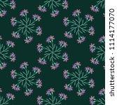 seamless geometrical floral...   Shutterstock .eps vector #1114177070