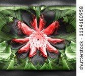 3d rendering of plastic...   Shutterstock . vector #1114180958