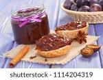 fresh prepared sandwiches with... | Shutterstock . vector #1114204319