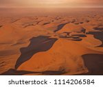an aerial view of the namib... | Shutterstock . vector #1114206584