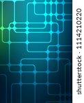 light blue  green natural... | Shutterstock . vector #1114210220