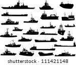 set of 25  twenty five ... | Shutterstock .eps vector #111421148