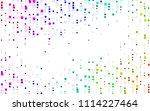 light multicolor  rainbow... | Shutterstock .eps vector #1114227464