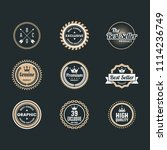 vintage retro vector logos for...   Shutterstock .eps vector #1114236749