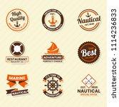 vintage retro vector logo for...   Shutterstock .eps vector #1114236833